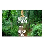 Keep Calm and Hike On Postcards (Package of 8)