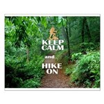 Keep Calm and Hike On Posters