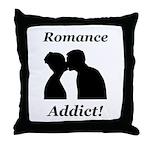 Romance Addict Throw Pillow