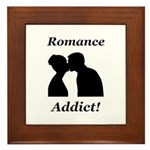 Romance Addict Framed Tile