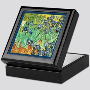 Vincent VanGogh Irises Keepsake Box