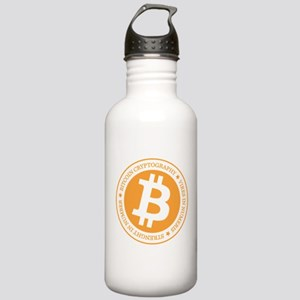 Type 1 Bitcoin Logo Stainless Water Bottle 1.0L