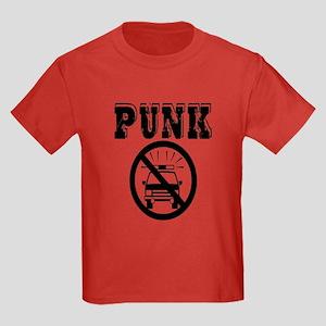 Punk No Cops Kids Dark T-Shirt