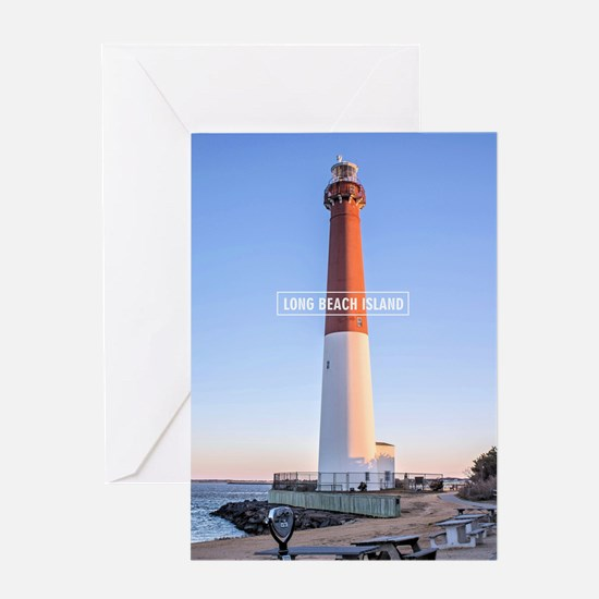 Long Beach Island - New Jersey. Greeting Card