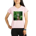 Keep Calm and Hike On Performance Dry T-Shirt