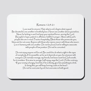 Romans 12: 9-21 Mousepad