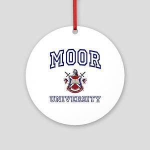 MOOR University Ornament (Round)