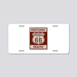 Geary Route 66 Aluminum License Plate