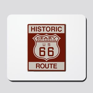 Geary Route 66 Mousepad