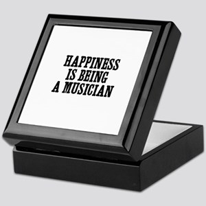 happiness is being a musician Keepsake Box
