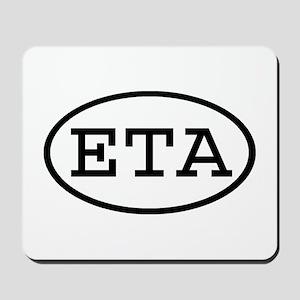 ETA Oval Mousepad