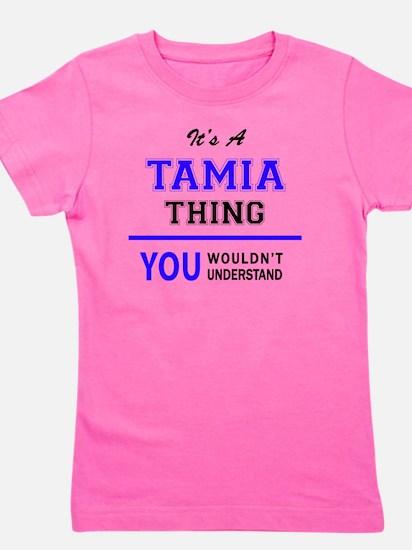 Cute Tamia Girl's Tee