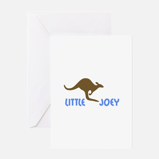 LITTLE JOEY Greeting Cards