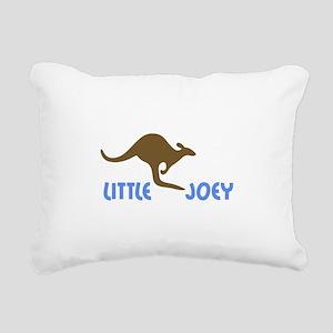 LITTLE JOEY Rectangular Canvas Pillow