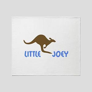 LITTLE JOEY Throw Blanket