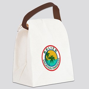 TRAVEL BELIZE Canvas Lunch Bag
