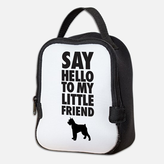 Say Hello To My Little Friend, Neoprene Lunch Bag