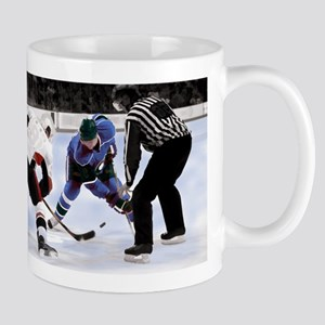 Ice Hockey Players and Referee Mugs