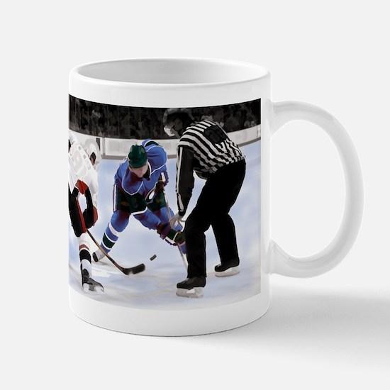 Ice Hockey Players and Referee Mugs