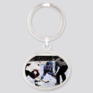Ice Hockey Players and Referee Keychains