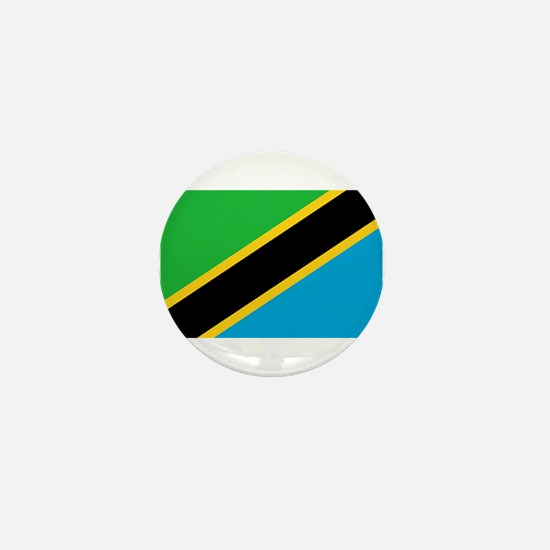 Tanzania Flag Mini Button