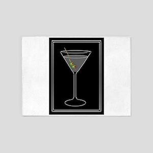 Modern Martini 5'x7'Area Rug
