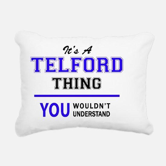 Cute Telford Rectangular Canvas Pillow