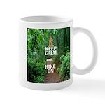 Keep Calm and Hike On Mugs