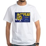Mr. Pear - White T-Shirt