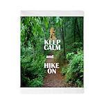 Keep Calm and Hike On Twin Duvet