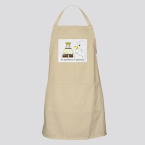 The experiment is an experiment. Apron