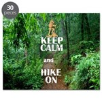 Keep Calm and Hike On Puzzle