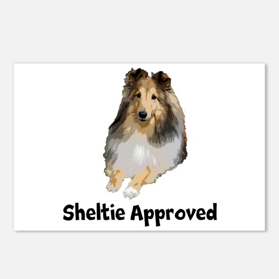 Sheltie Approved Postcards (Package of 8)