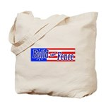 Build The Fence Tote Bag