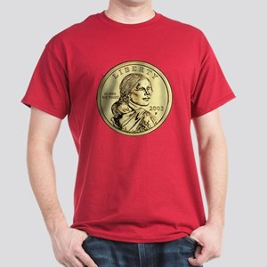 Sacagawea Dollar Dark T-Shirt