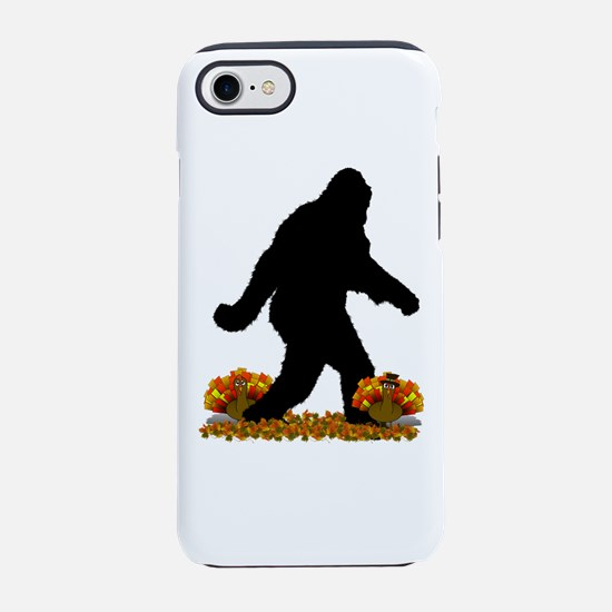 Gone Thanksgiving Squatchin' iPhone 7 Tough Case