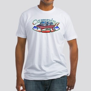 Rv Camping Fitted T-Shirt