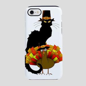 Thanksgiving Le Chat Noir With iPhone 7 Tough Case