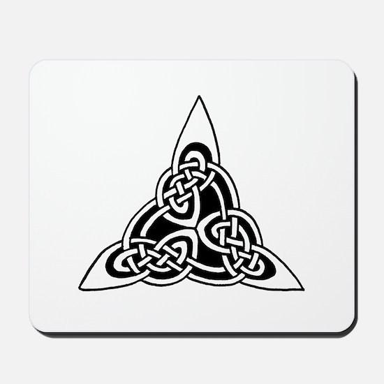 Celtic Knotwork Triangle Mousepad