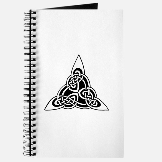 Celtic Knotwork Triangle Journal