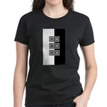 Black & White Women's Dark T-Shirt