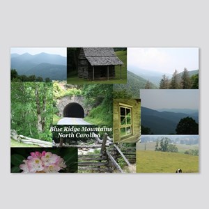 Blue Ridge Mountains NC Postcards (Package of 8)