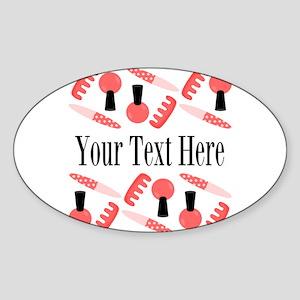 Pink Nail Salon Custom Sticker