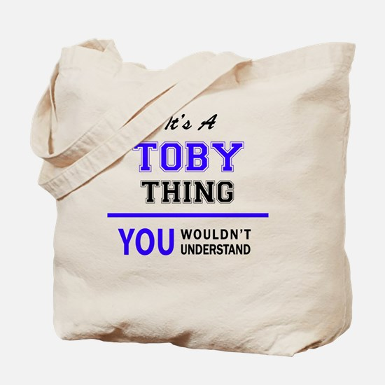 Cute Toby Tote Bag