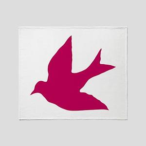 Sparrow Throw Blanket