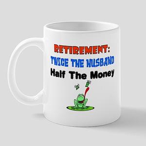 Retirementtwicethehusband Mugs