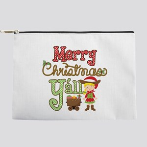 Christmas Y'all Makeup Pouch