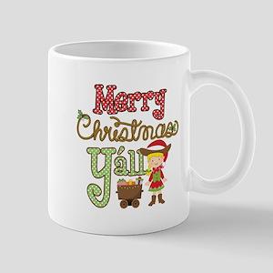 Christmas Y'all 11 oz Ceramic Mug