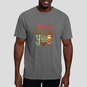Christmas Y'all Mens Comfort Colors Shirt