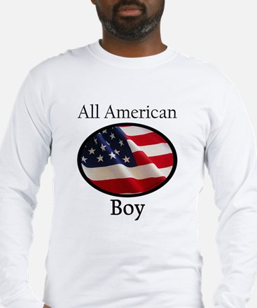 Unique White boy day Long Sleeve T-Shirt